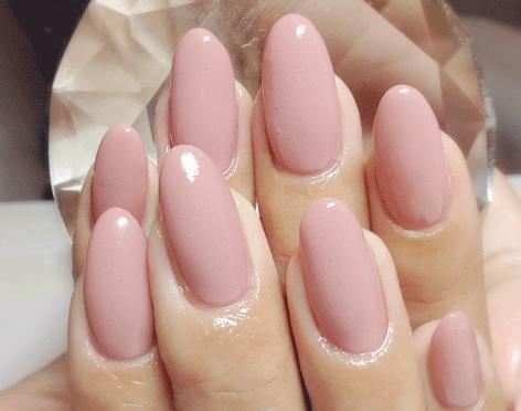 深爪・噛み爪・爪が薄くても・長持ちパーフェクトフィルインのジェルネイル一層ベース残しは6週間持つ  一層 を 残した 爪切りで切れるジェルネイル アセトン 不使用